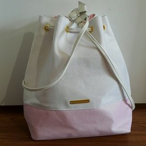 JUICY COUTURE Dawstring Cotton /PVC Backpack